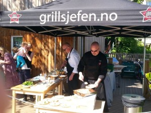 Grillsjefen sørger for catering i bryllup